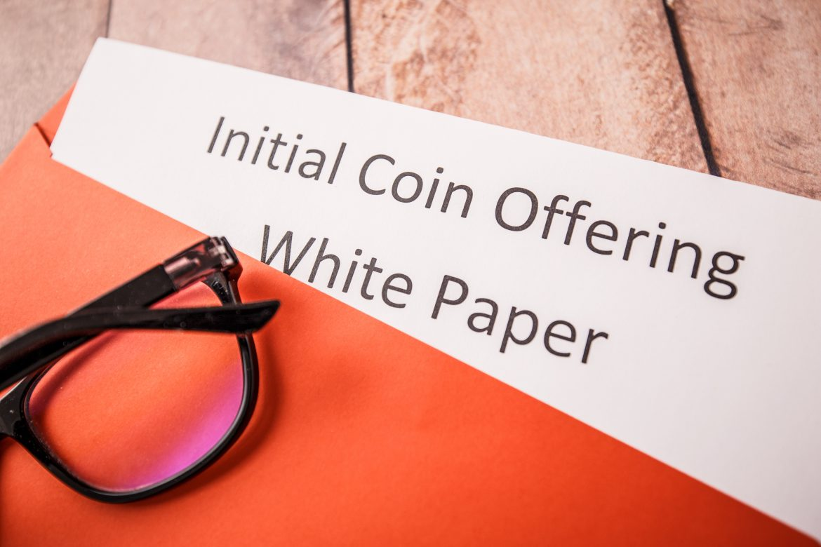 Initial coin offering illustration