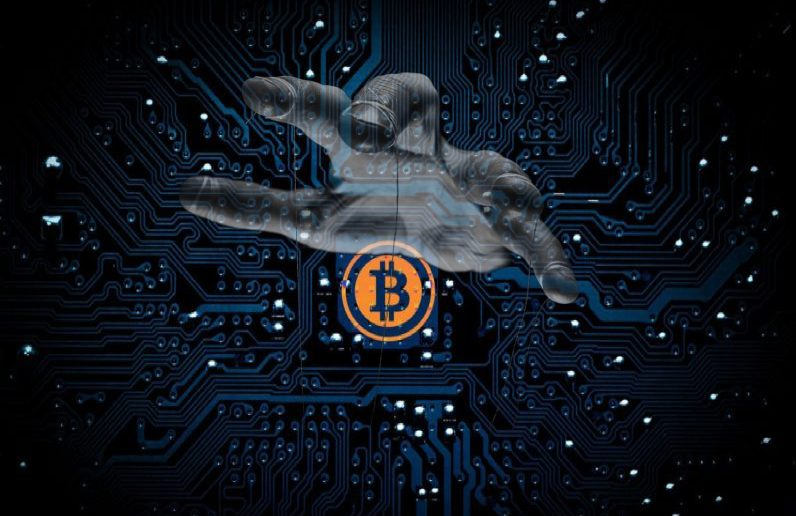 background control bitcoin